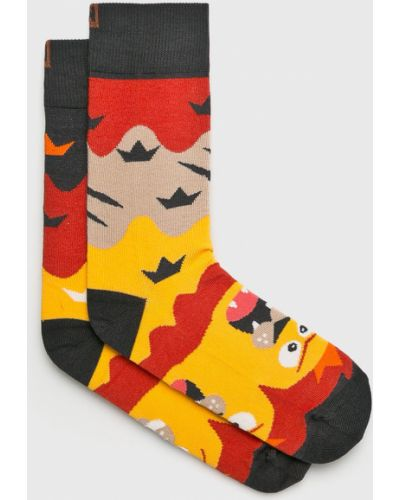 Хлопковые носки - желтые Nanushki