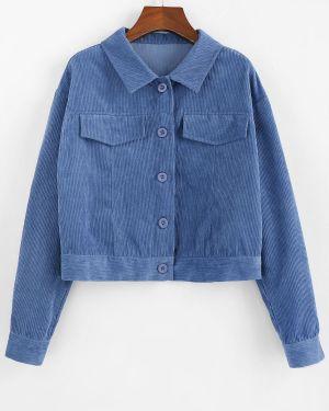 Куртка вельветовая куртка-жакет Zaful