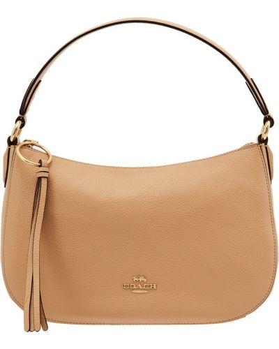 f750cb053301 Кожаный сумка с ручками сумка-седло Coach