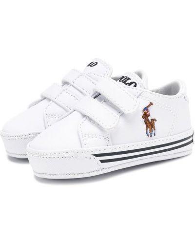 Белые пинетки Polo Ralph Lauren