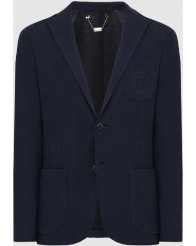 Синий пиджак Billionaire