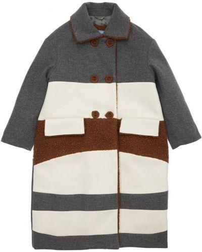 Пальто на пуговицах Mi.mi.sol.