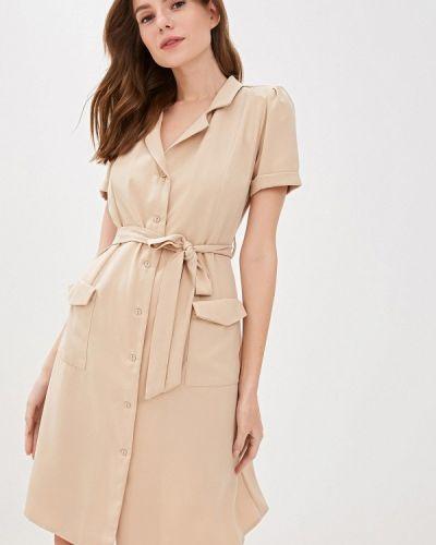 Платье с запахом осеннее Vilatte
