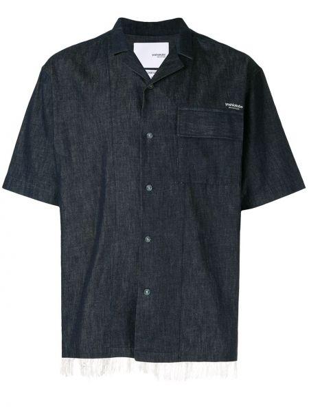 Рубашка с короткими рукавами с заплатками на пуговицах Yoshiokubo