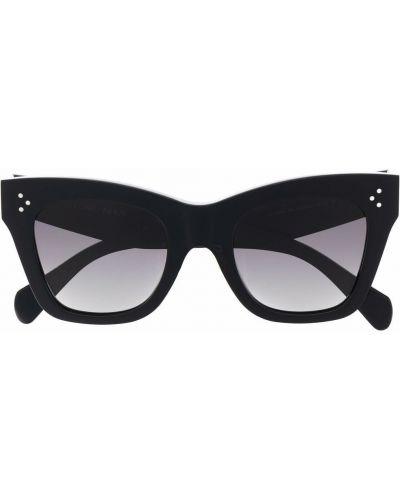 Черные солнцезащитные очки с логотипом Céline Eyewear