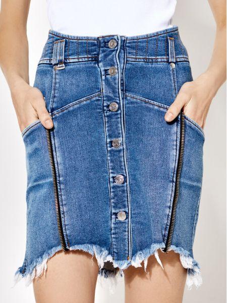 Spódnica jeansowa - niebieska Rage Age