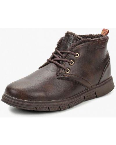 Ботинки осенние кожаные высокие Patrol