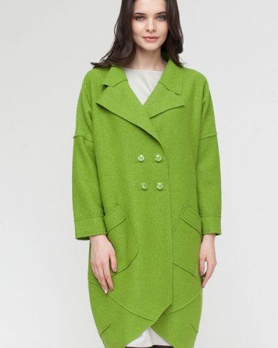 Пальто демисезонное зеленое Lucky Move