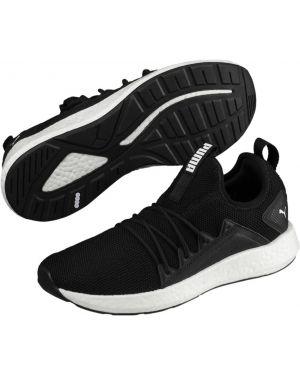 Кроссовки для бега черные белый Puma