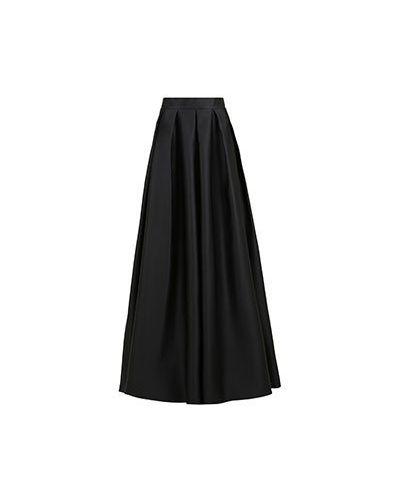 Черная юбка макси Vuall