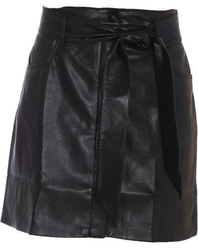 Czarna spódnica Nanushka