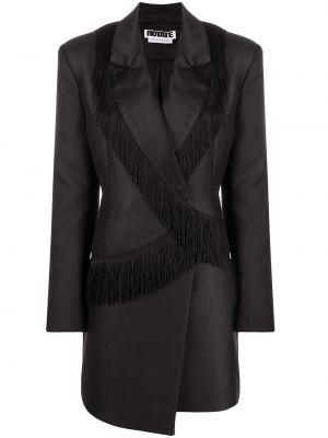 Платье макси длинное - черное Rotate