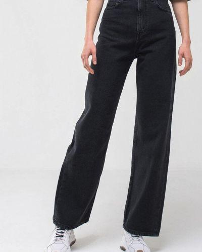 Серые широкие джинсы свободного кроя Minnim