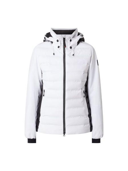 Biała kurtka pikowana Bogner Fire + Ice