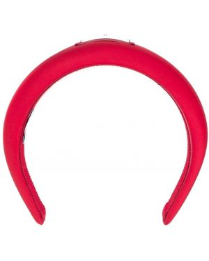 Ободок металлический - красный Prada