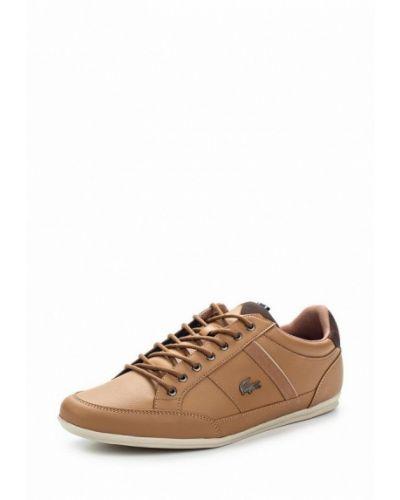 Коричневые кроссовки Lacoste