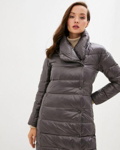 Серая зимняя куртка снежная королева