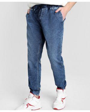 Синие джинсы на резинке Ostin