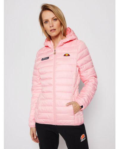 Różowy kurtka Ellesse