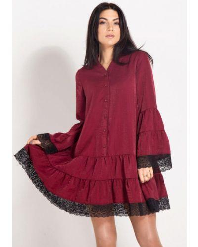 Вечернее платье - бордовое Bessa