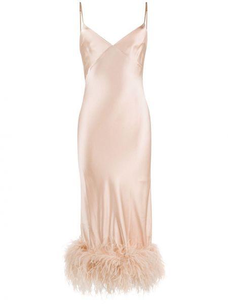 Платье миди на бретелях с V-образным вырезом Gilda & Pearl