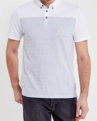 Белое поло Burton Menswear London