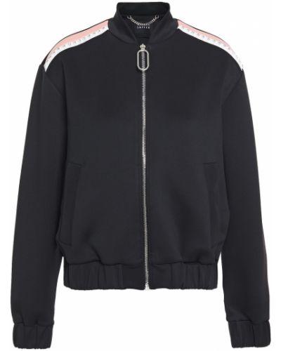 Трикотажная черная куртка с карманами Markus Lupfer