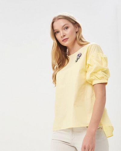 Желтая блузка Zarina