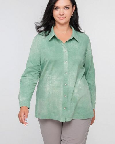 Рубашка - зеленая Лимонти