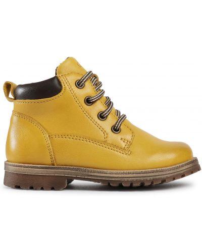 Ботинки - желтые Froddo