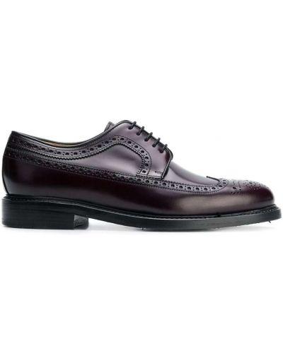 Кожаные красные классические туфли на каблуке Berwick Shoes
