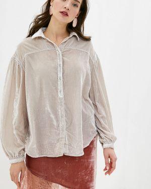 Блузка с длинным рукавом бежевый Free People
