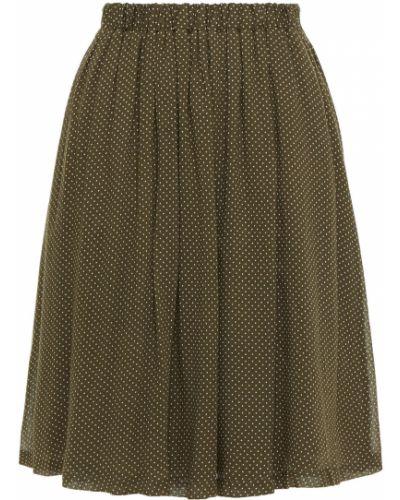Плиссированная юбка - зеленая American Vintage