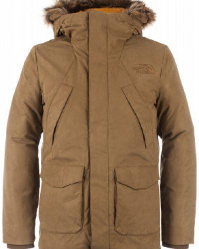 Длинная куртка с капюшоном спортивная The North Face