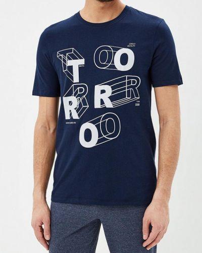Синяя футболка 2019 Torro