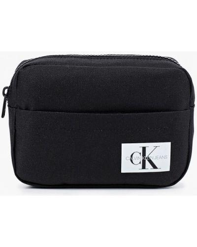 Текстильный черный футляр для очков Calvin Klein Jeans