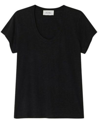 T-shirt vintage - czarna American Vintage