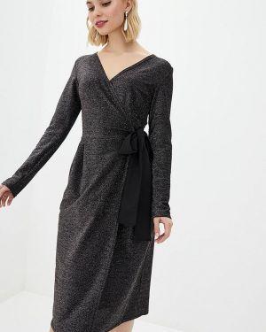 Серое вечернее платье Modniy Oazis