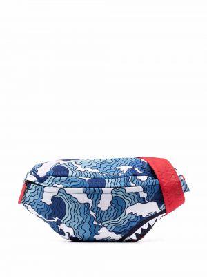 Поясная сумка с логотипом - синяя Sprayground