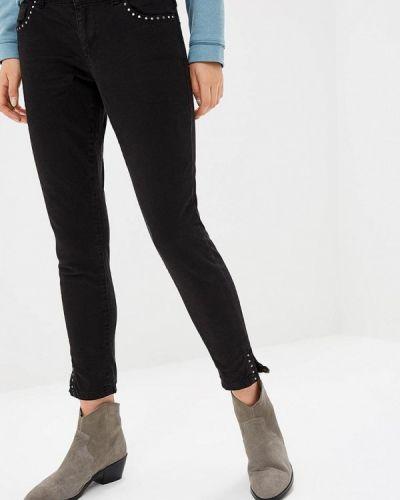 Черные джинсы-скинни S.oliver