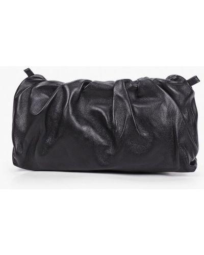 Кожаная черная сумка Lamania