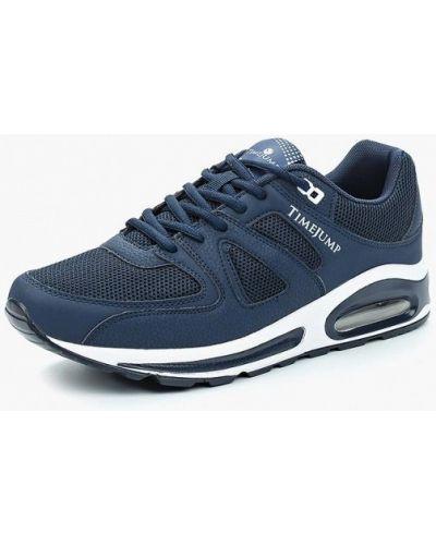 Синие кроссовки из искусственной кожи Timejump