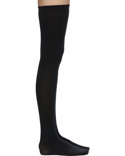 Черные трикотажные носки Wolford
