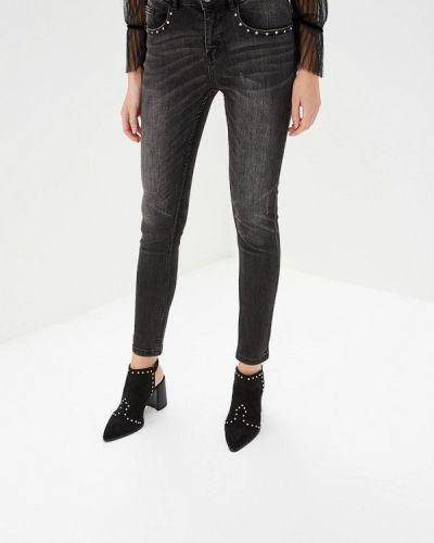 Серые джинсы-скинни Love Republic