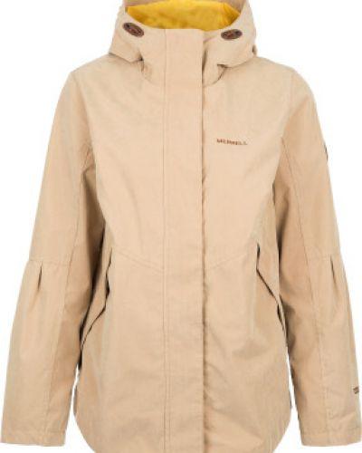Куртка с капюшоном водонепроницаемая спортивная с мехом Merrell