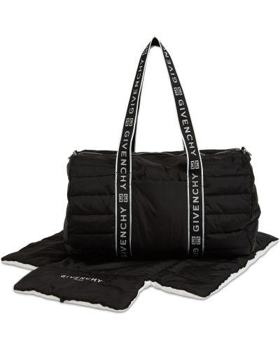 Czarna torebka z nylonu Givenchy