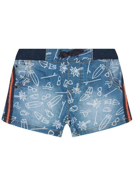Szorty jeansowe - niebieskie Primigi