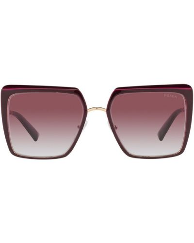 Czarne okulary Prada