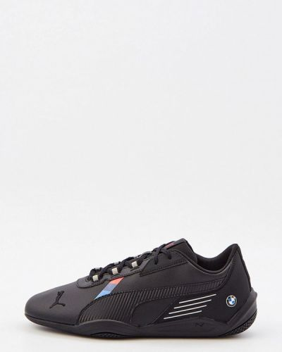 Черные зимние низкие кроссовки Puma