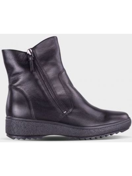 Кожаные ботинки - черные Ara
